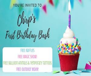 Chirps Birthday Bash