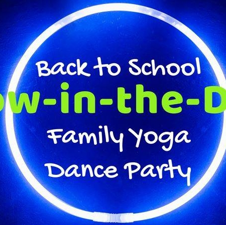 Glow in the Dark Family Yoga Dance Party