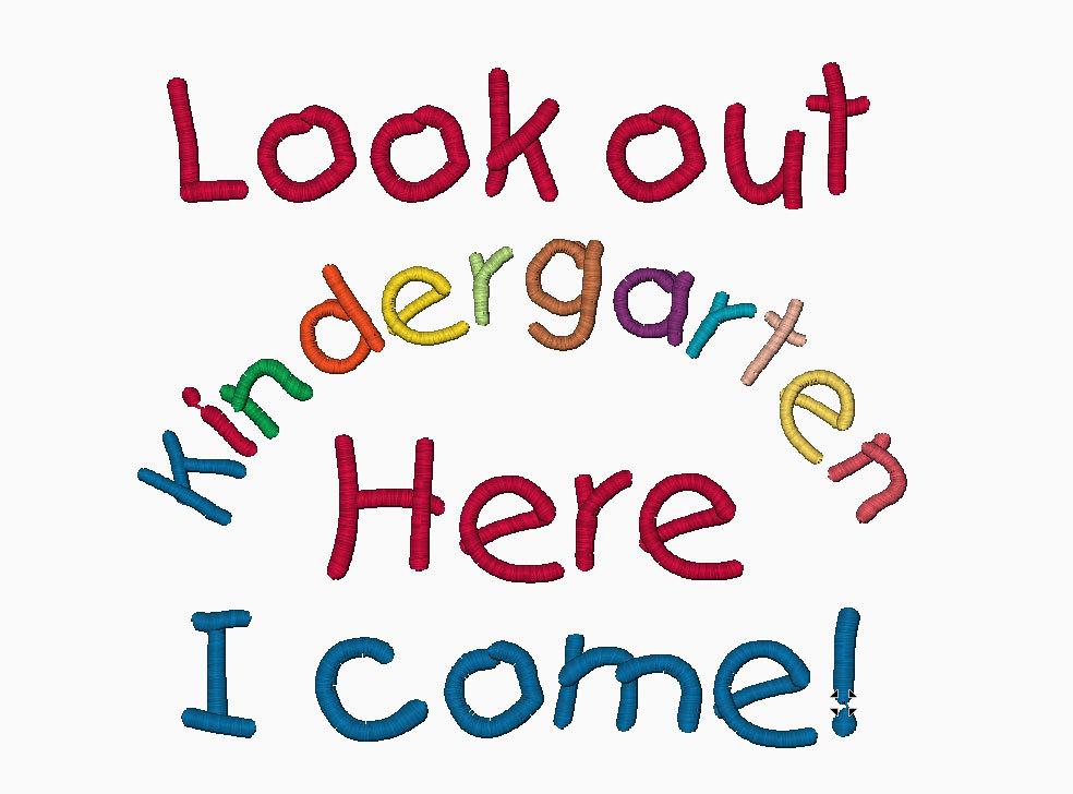 Kindergarten, Here I Come! | Charleston SC 29492 ...